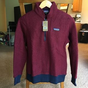 Patagonia Fleece Wool Pullover Sweater NWT XS